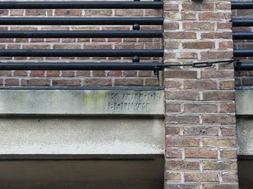 Kasterlee Leistraat 36-38 inscriptie K. Van Loon