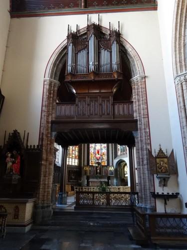 Brugge Baliestraat 2 Orgel
