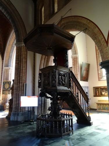 Brugge Baliestraat 2 Preekstoel