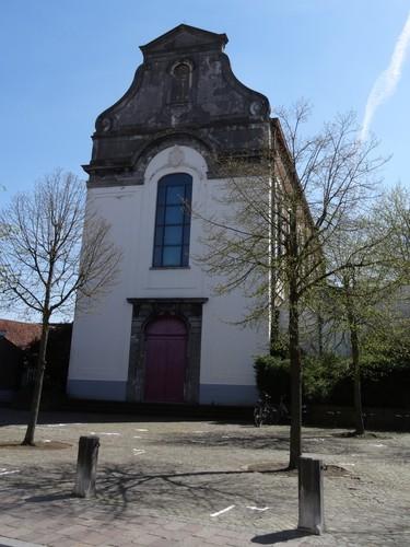 Brugge Kazernevest 4 westzijde