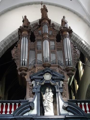 Brugge Moerstraat 1 Orgel