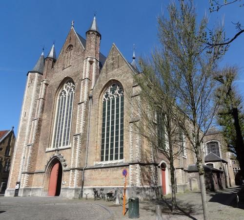 Brugge Moerstraat 1 zuidwestzijde