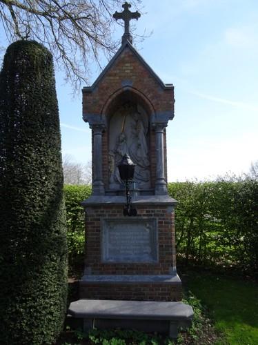 Brugge Pastoor Verhaegheplein 13 Onze-Lieve-Vrouw Boodschapkapel