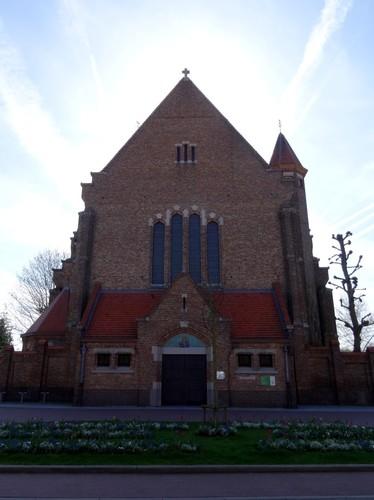 Brugge Sint-Katarinastraat zonder nummer noordwestzijde