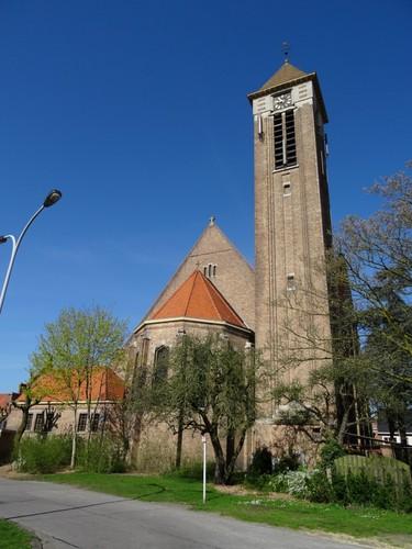 Brugge Sint-Katarinastraat zonder nummer oostzijde