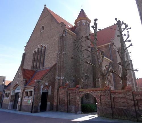 Brugge Sint-Katarinastraat zonder nummer westzijde