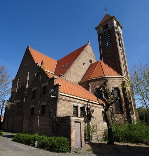 Brugge Sint-Katarinastraat zonder nummer zuidoostzijde