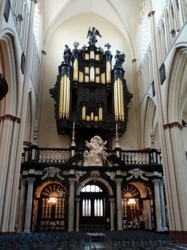 Brugge Sint-Salvatorskerkhof zonder nummer Orgel