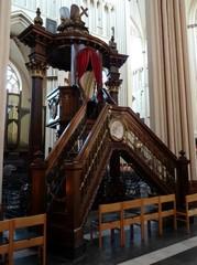 Brugge Sint-Salvatorskerkhof zonder nummer Preekstoel (https://id.erfgoed.net/afbeeldingen/282994)
