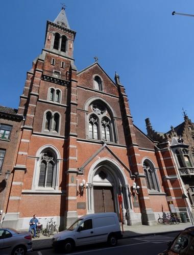 Brugge Vlamingstraat 84 westzijde