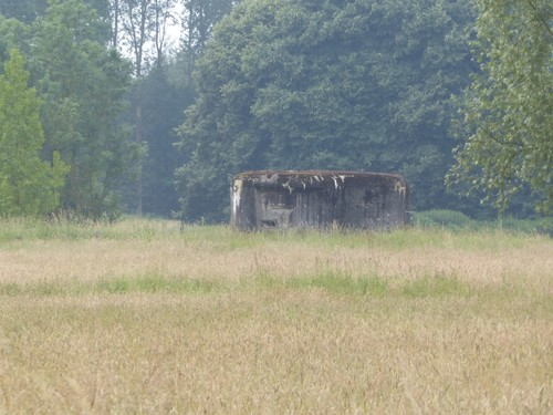 Bunkers KW-linie Vlaams-Brabant Leuvensebaan langs de Dijle