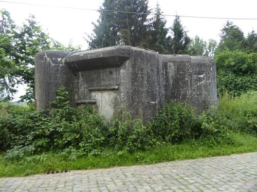 Bunkers KW-linie Vlaams-Brabant Vijverstraat Huldenberg