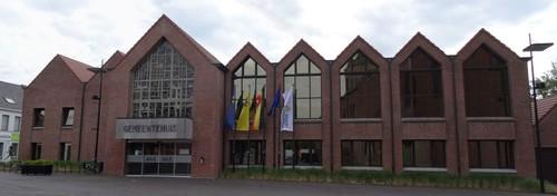 Ingelmunster Oostrozebekestraat Gemeentehuis