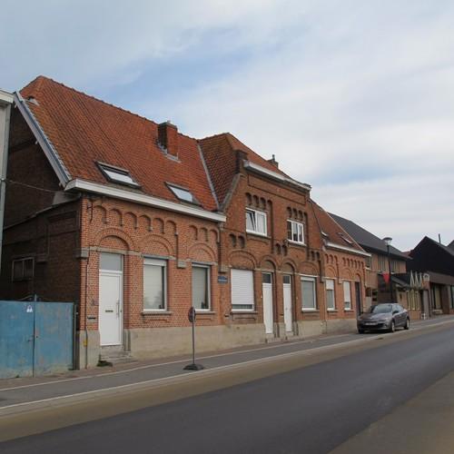 Zonnebeke Beselare Wervikstraat 24-26-28-30