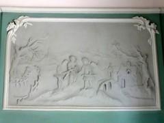Nevele Hammeken 23 Decoratief stucwerk 1 (https://id.erfgoed.net/afbeeldingen/284670)