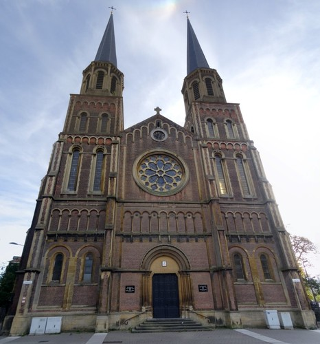 Antwerpen Charlottalei 2 noordwestzijde