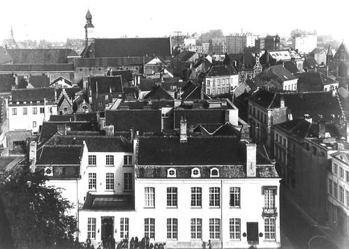Gent Geldmunt straatbeeld