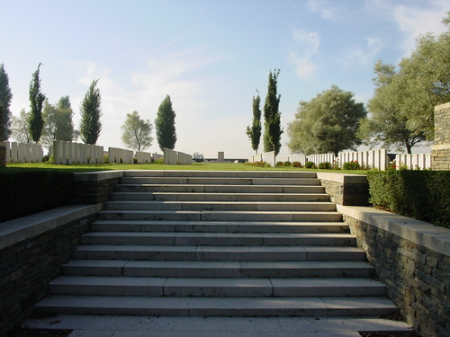Mesen: Messines Ridge British Cy: Stone of Remembrance