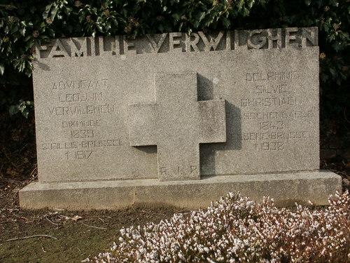 Graftekens van de familie Verwilghen
