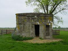 Duitse bunker van de Eerste Wereldoorlog