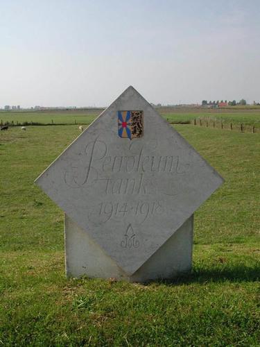 Diksmuide Ijzerdijk zonder nummer naamsteen