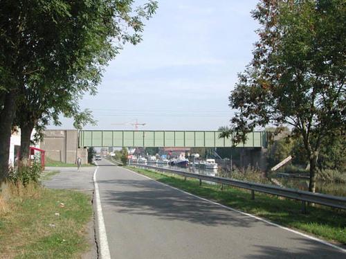 Diksmuide Ijzerdijk zonder nummer spoorwegbrug