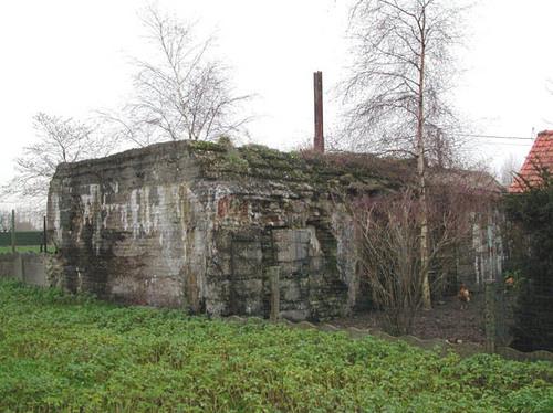 Diksmuide Keiem Leimolenstraat zonder nummer bunker