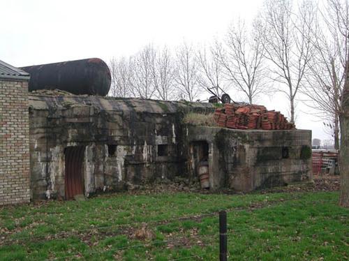 Diksmuide Leke Dwarsstraat 18 bunker