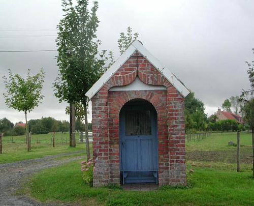 Diksmuide Knokkestraat zonder nummer kapel