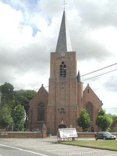 Diksmuide Sint-Pietersplein 10 parochiekerk