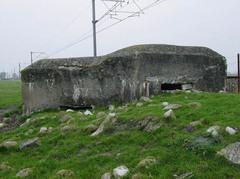 Belgische mitrailleursbunker uit de Eerste Wereldoorlog