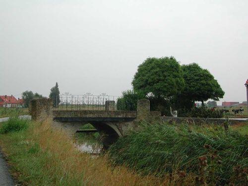 Diksmuide Oude Zeedijk zonder nummer brug