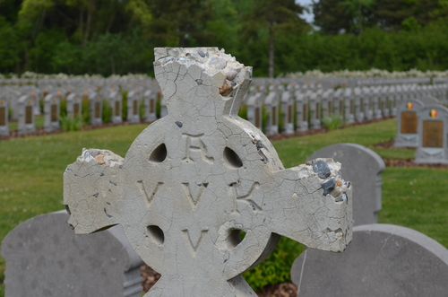 Belgische militaire begraafplaats De Panne
