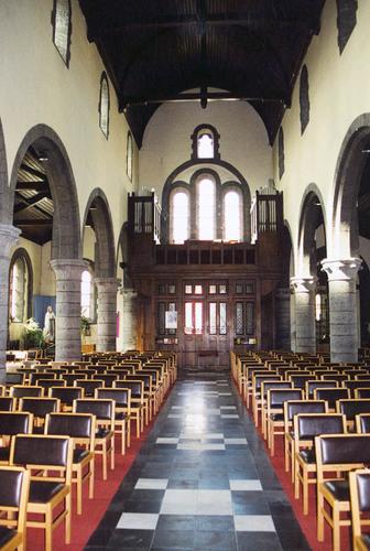 Kortrijk Rollegemplaats zonder nummer Interieur van de kerk