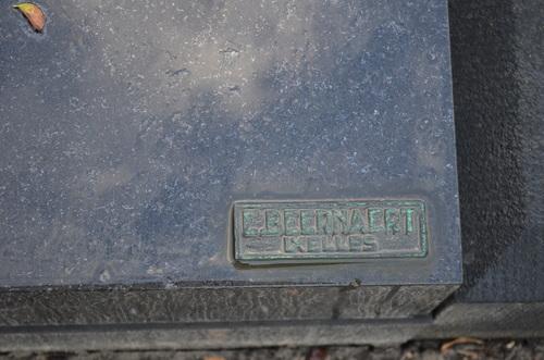 Machelen Zaventemsesteenweg zonder nummer grafteken voor Victor Servranckx