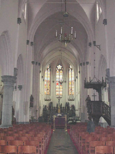 Damme Dorpsstraat zonder nummer kerkinterieur