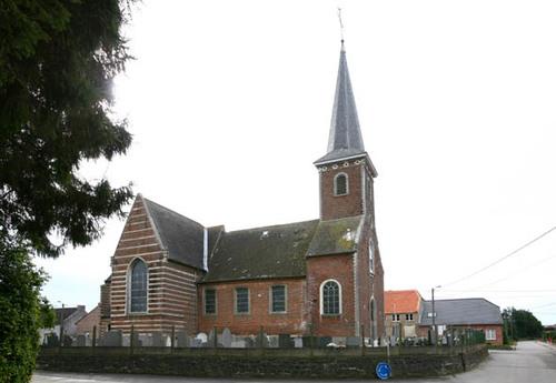 Molenbeek-Wersbeek Processiestraat Sint-Quirinuskerk
