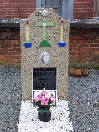 Parochiekerk Sint-Remigius met ommuurd kerkhof