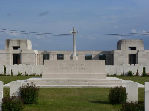 Passendale sGraventafelstraat New Military Cemetery (24)