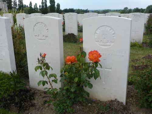 Passendale sGraventafelstraat New Military Cemetery (15)