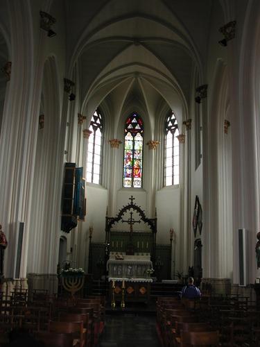 Avelgem Doorniksesteenweg zonder nummer Interieur van de kerk