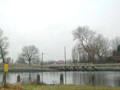 Veerpont over het Boudewijnkanaal