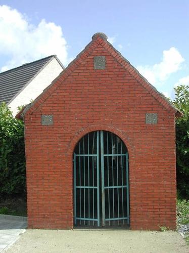 Houthulst Torhoutstraat zonder nummer Stokstraat kapel