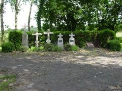 Belgische militaire graven op kerkhof