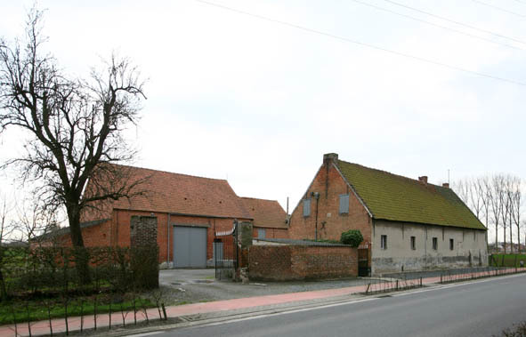 Oude hoeve uit 1789, Londerzeel(Vl-Brabant)