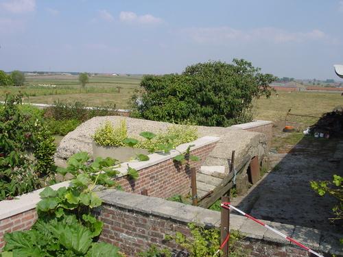 Britse bunker Derry House
