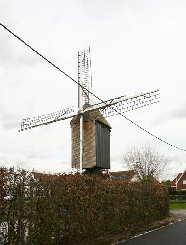 De Heidemolen te Malderen.(Vl-Brabant)