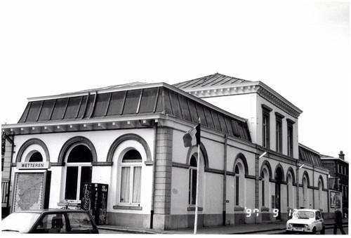 Station Wetteren met wachthuis