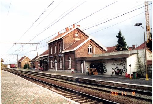 Anzegem Statieplein 3 Station Anzegem