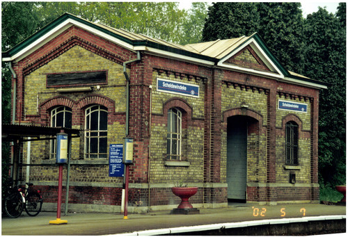 Station Scheldewindeke